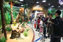 Indoor dinosaur play park