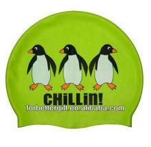 Top 10silicone swimming cap/ fashionable swim caps/ custom printed swimming caps