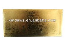 india ganesh god gold foil envelop, packet.