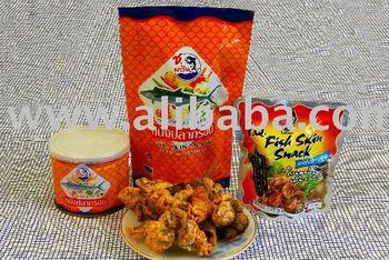 Crispy Fish Skin Snack