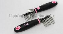 Dematting comb pet accessores