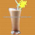 De Chocolate con leche de ingredientes