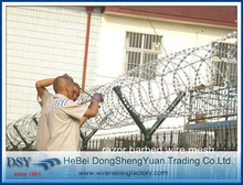 High Security Razor Wire Prison Fence(28 years'factory)