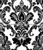 2013 hot sale new design Nonwoven European MODERN Style flocking Wallpaper for Hotel