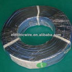 Black/Blue 2 Core PVC Insulated Copper Conductor Flat Ribbon Cable