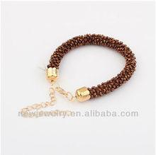 Fashion Handmade Coffee 2013 Popular Beaded Bracelets B6138