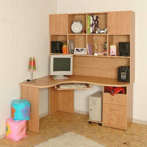 Escritorio de la esquina otros muebles de madera - Escritorio en esquina ...