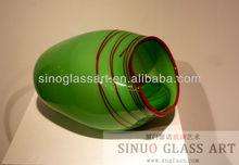 Table Centerpiece of Handicraft Glassware Set