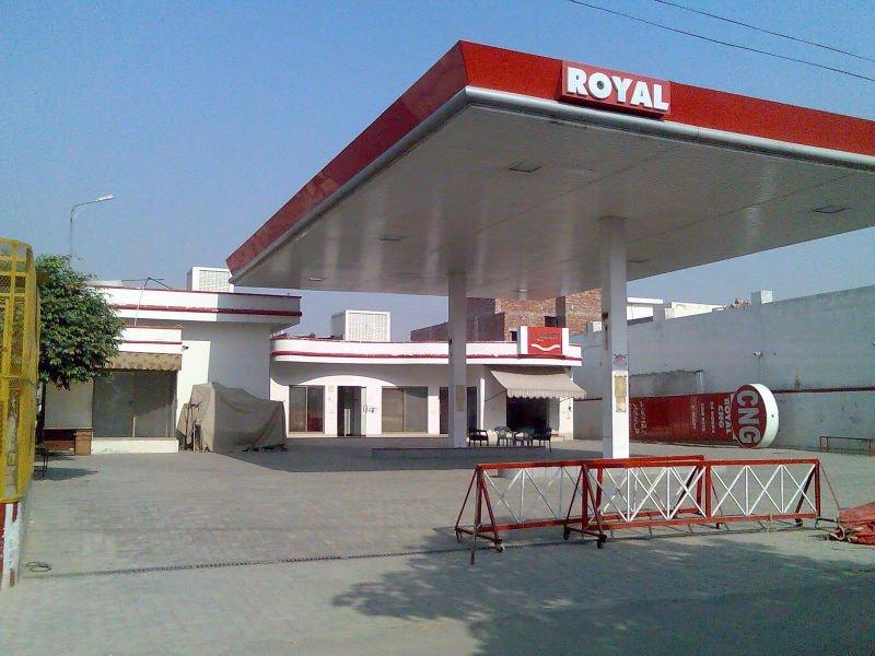 gas station pump. CnG Pump / Gas