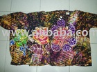viscose silk batik T-shirt