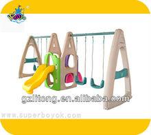 Kindergarten Plastic Swing Set 7-10t