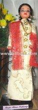 Baju Riau Pahang doll