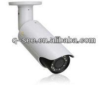 QCN8002B Weatherproof 1080p Resolution 100 ft Night Vision in Low Light CCTV IP Camera