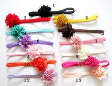 fancy baby girl cute headband flower decoration many colors