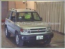 1999 Used car MITSUBISHI PAJERO io 3D 4WD ZX/SUV/RHD/170403/Gasoline/Silver