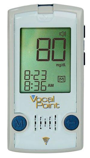 VocalPoint Talking Blood Glucose Meter