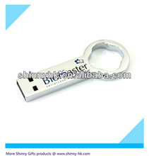 Promo gifts usb flash drive bottle opener