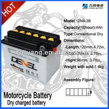 DRY CHARGE Motorcycle Battery-12V4AH-YB4L-B