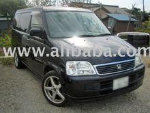 2000 Used HONDA STEPWGN Deluxie /Wagon/RHD japanese vehicle