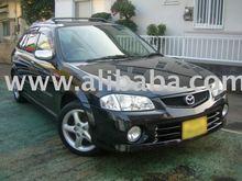 2000 Used MAZDA FAMILIA S-Wagon SPORT 20 /Van/RHD japanese automobile