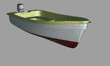 Canot type 430 fiberglass boat