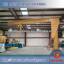 ISO CE certification hydraulic mobile floor crane