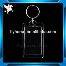 custom made blank acrylic key chains