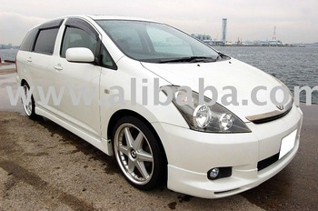 2003 Second hand cars TOYOTA WISH XS Package Van RHD