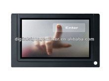 Supermarket used 7 inch touching lcd advertising player/display/media/equipment with motion sensor price