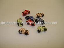 Ceramic Beads - Motorcycles