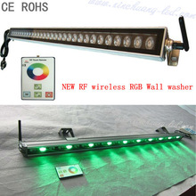 NEW 30W RF wireless RGB wall washers led round