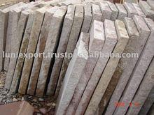 Sandstone Tumbled Wall Caps