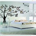 """حجم xxl 99''*79"""" شجرة إطار الصورة صورة العائلة اقتبس الجدار شارات الفينيل المبحرون فنون ديكور المنزل"""