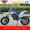 Electric dirt bike 500W