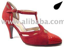 Mythique Women's Tango Ballroom Dance Shoes - Nadia
