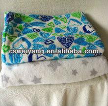 Children coral/flannel fleece blanket