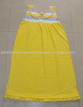 Latest design high quality girls frog dress