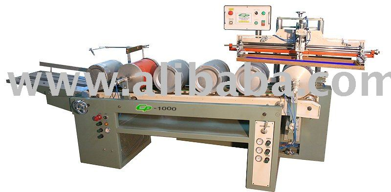 Automatic screen printing machine for plastic containers