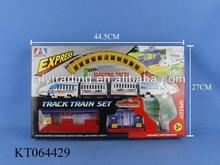Kids New Plastic Cheap Electric B/O Train Track Train Toy Rail Car