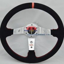 automobile momo PU and leather steering wheel pc8903