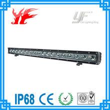 high lumen auto led light bar 5W CREE light bar one row