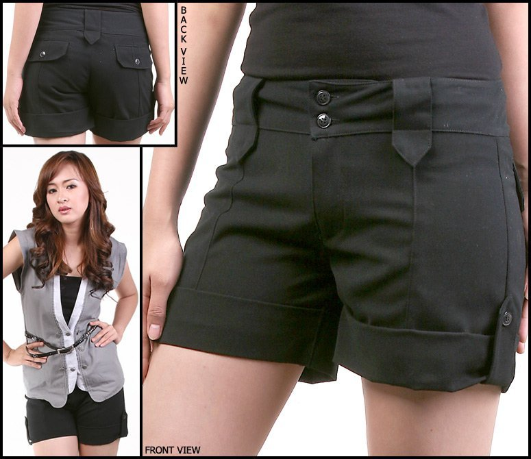 Innovative Black Ripped Shorts For Women Black Shorts For Womenwomens