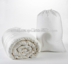 100% mulberry silk filled duvet/quilt with silk cover