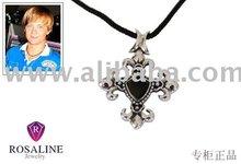 R9-002N Sterling silver black onyx pendant