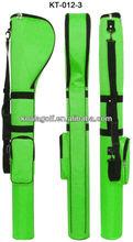 Customized golf bag with 2013 latest pencil or gun golf bag