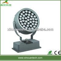 Shenzhen factory dmx 36w round led wall washer lights
