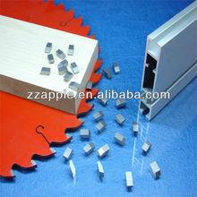 sandblast or nickel coating tungsten carbide saw blade teeth tips