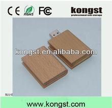 best buy book design usb flash drive 16gb memory stick,logo printing book shaped 16gb u disk wooden book usb flash drive