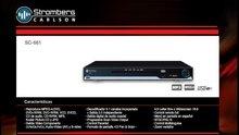 Reproductor De Dvd player Stromberg Carlson Sc-661 C/ Usb Y 5.1