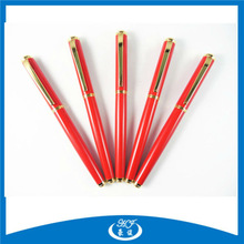 High Quality Metal German Pen Brands with Red Color Lacquer